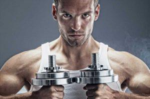 Ejercicios musculación pesas
