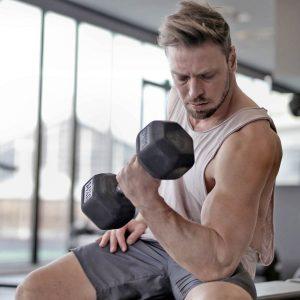 mancuernas pesas musculación