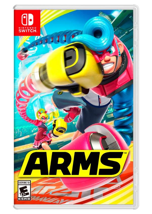 ARMS Nintendo Switch juego deporte