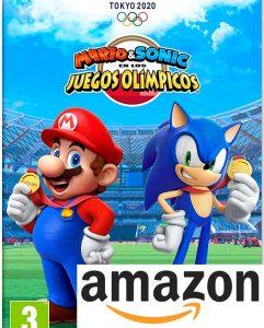 Mario & Sonic en los Juegos Olímpicos Tokio 2020 Nintendo Switch juego Amazon