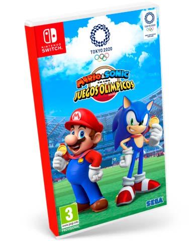 Mario & Sonic en los Juegos Olímpicos Tokio 2020 Nintendo Switch juego