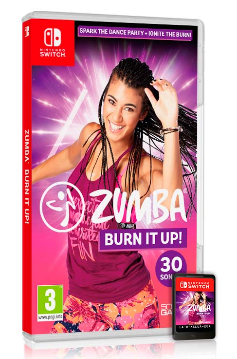 Zumba Burn It Up! Nintendo Switch juego baile