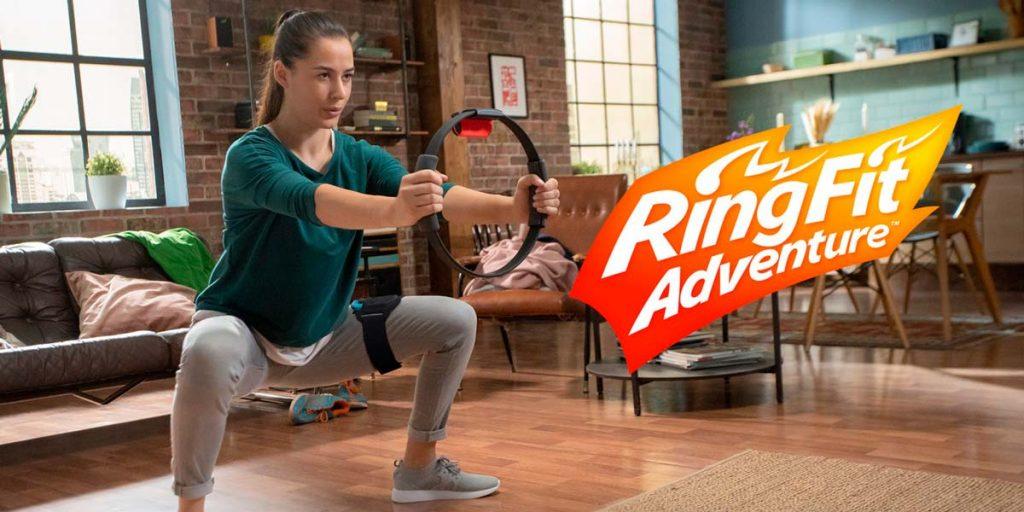 Ring fit adventure nintendo switch juego deporte