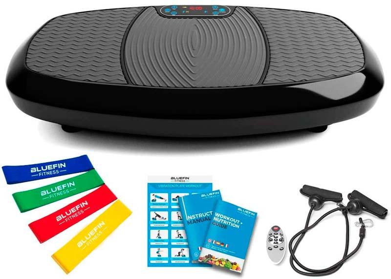 mejores ejercicios Plataforma Vibratoria Bluefin Fitness  3D