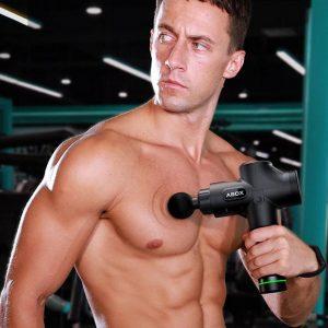 Pistola de masaje muscular