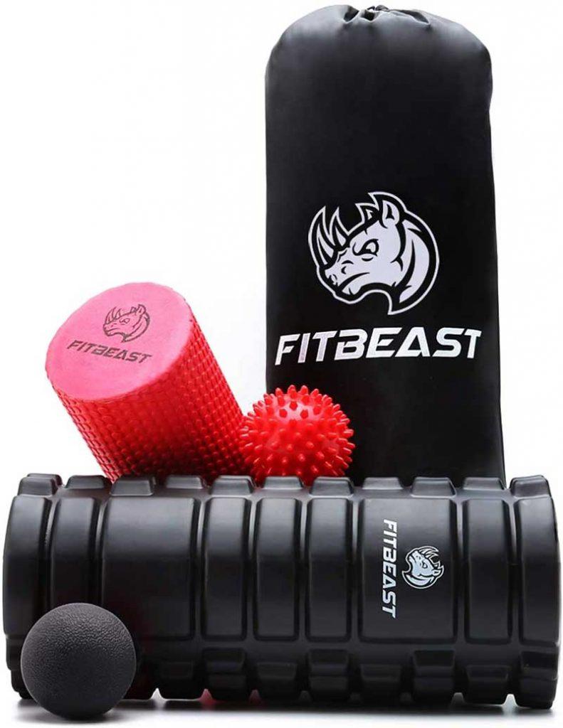 FitBeast Kit Rodillos de Espuma para Masaje Muscular