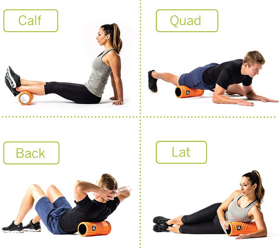 Foam roller Trigger Point Performance The Grid masaje muscular